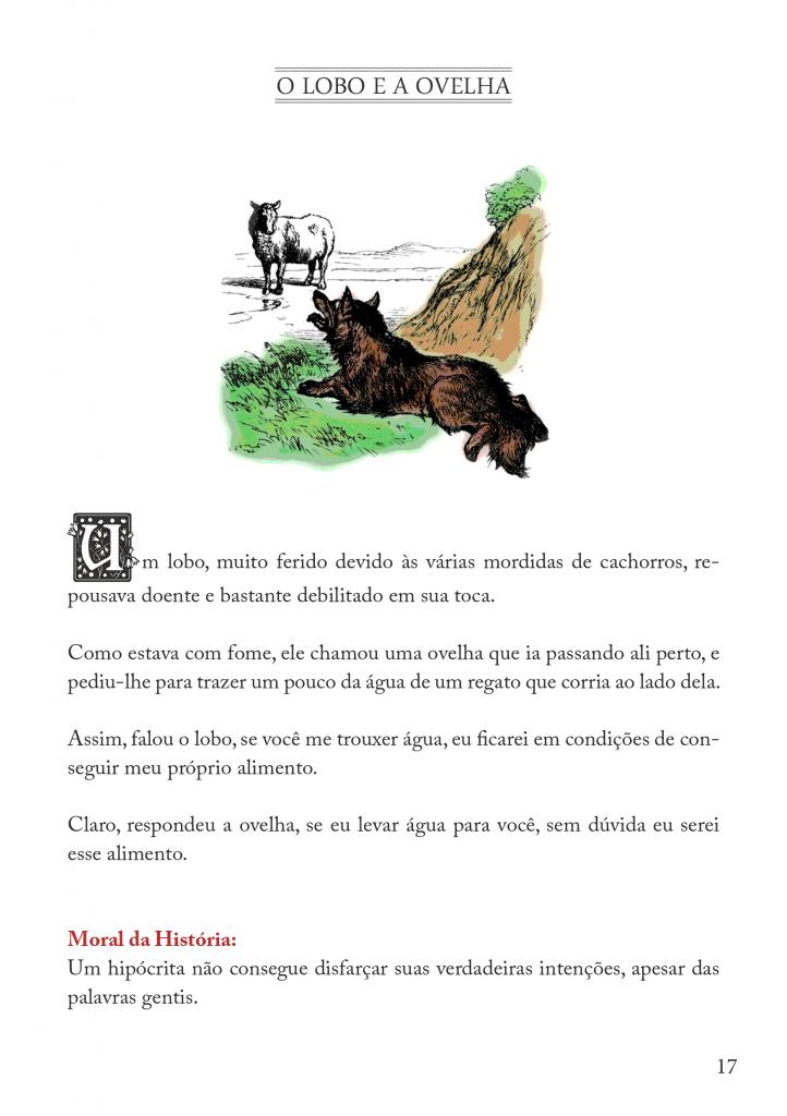 Fábulas Infantil de Esopo para imprimir - Folha 11
