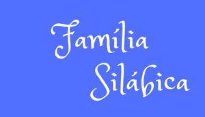 Família Silábica para Imprimir