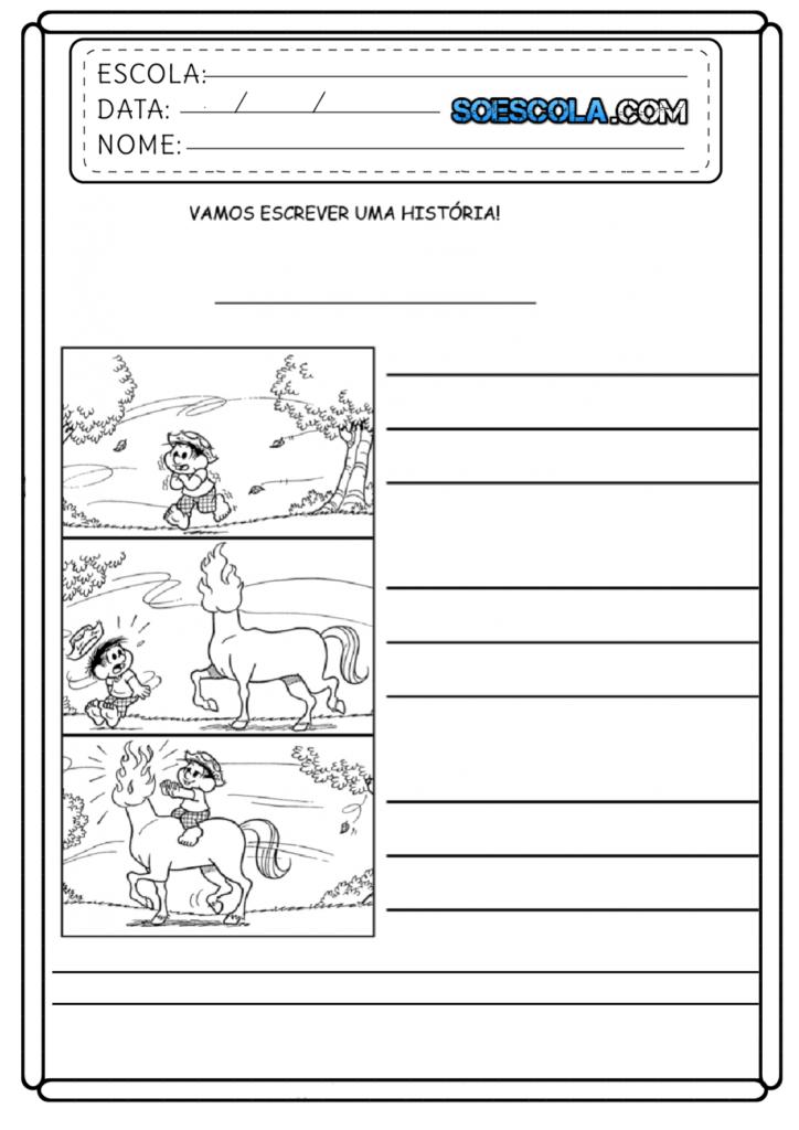 Produção de texto folclórico: Escreva uma história