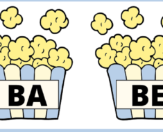 Silabário Silabas Simples do B