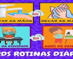 CARDS ROTINAS DIÁRIAS